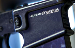 Allstar Tactical gun engraving